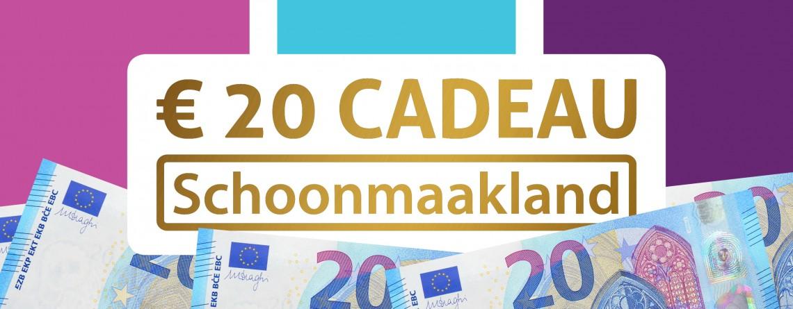 €20 cadeau!